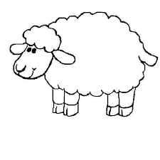 Small Picture Sheep Coloring Pages A Sheep Coloring Schafjpg Pages clarknews