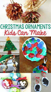 Kids Crafts For Christmas 710 Best Kid Made Christmas Ornaments Images On Pinterest Easy