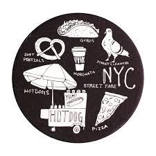 nyc street fare coaster sets  reyn paper co