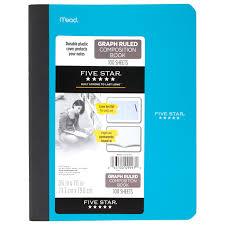 Five Star Graph Paper Notebook