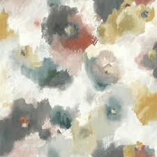 York Wallcoverings Impressionist Floral ...