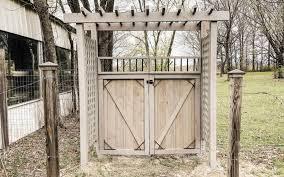 building a diy garden gate trellis