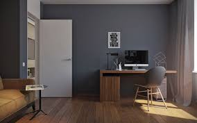 gray home office. Gray Home Office