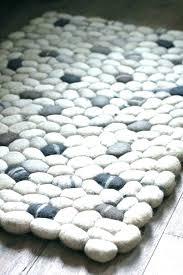 pebbles bath rug set stone mat mats abyss x river pebble matting grey