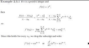 Calculus Derivative Rule Derivation Simplification Mathematics