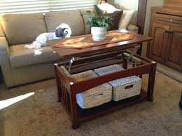camping coffee table camping world coffee table has a hinged top baskets underneath contains quilting fabric camping coffee table