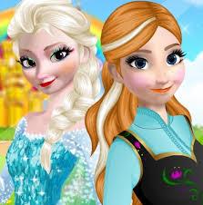 elsa and anna makeup game
