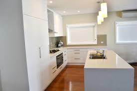 Splashback White Kitchen Practical Laminate Kitchens Cdk