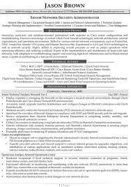 Information Technology Resume Examples In Security Manager Resume