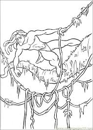 Small Picture Tarzan 64 Coloring Page Free Tarzan Coloring Pages