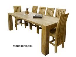 Esstisch Tisch Esszimmertisch Teakholz Massiv 10 Personen