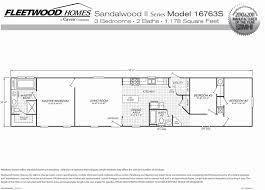 3 bedroom single wide mobile home floor plans new 60 fresh floor plans mobile homes of