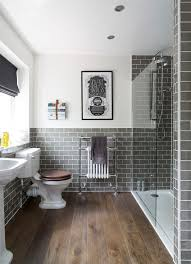 bathroom tile grey subway. Grey Subway Tile Bathroom Traditional With Wooden Floor Honed Multiuse Mosaic Tiles S