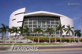 fullheightview the american airlines arena from biscayne boulevard