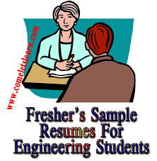 Engineering Students Samples Resume Format And Curriculum Vitae For ...