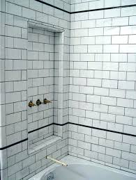 white subway tile grey grout. Fine Grout Gray Tile With Grout Subway Grey White  Bathroom  Inside White Subway Tile Grey Grout