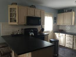 Alabaster White Kitchen Cabinets Kitchen Cabinet Refinishing Painting Grande Finale