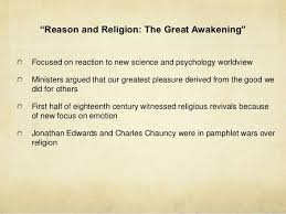 how to write a personal the great awakening essay the first great awakening often referred by historians as the great awakening is the sometimes given to a period of heightened religious activity