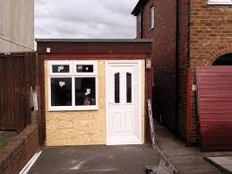 converting garage to office. Home Office Conversion From Single Garage Unit Converting To O