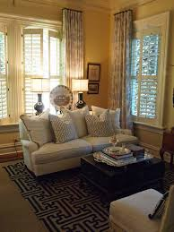 Window Treatments For Living Room Living Room Love The Drapes With Shutters Trunk Everything