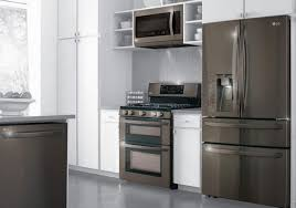 whirlpool black stainless steel appliances. Whirlpool Black Stainless Samsung Steel Electric Range Lg French Door In Appliances