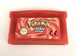 Pokémon: FireRed Version Pokemon Game Boy Advance game for Nintendo GBM,  GBA, SP, NDS, NDSL - AutoLinie
