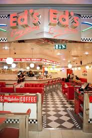 1950's burger diners | All-American menu at Ed's Diner