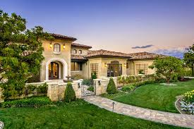 home office design ideas tuscan. Traditional Home Office Design Ideas Exterior Mediterranean With Palo Alto Stone P Tuscan K