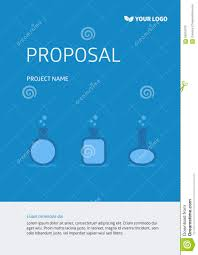 Project Cover Page Template Project Template Cover Page Stock Illustration Illustration Of 8