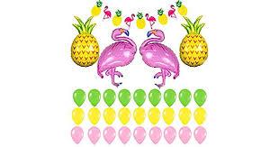 <b>40PCS</b>/Set Confetti Foil Balloon <b>Flamingo</b> Letter Banner Party ...