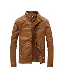 nantersan leather jacket collar motorcycle