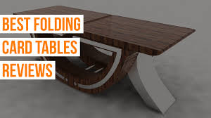 TOP 10 Folding Card Tables to Buy in 2019 - Expert Reviews