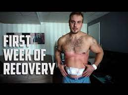 hernia surgery recovery first week