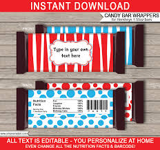 personalized chocolate bar wrappers dr seuss hershey candy bar wrappers template