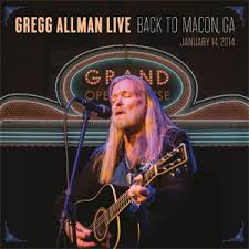 <b>Gregg Allman Live</b>: Back to Macon, GA - Wikipedia