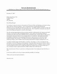 Application Letter Sales Executive Fresh Cover Letter Project