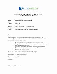 Business Meeting Invitation Letter - Sarahepps.com -