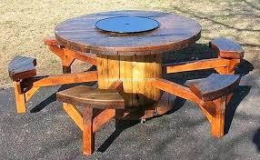 pallet cable spool furniture idea 4