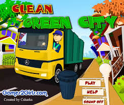 clean green city game show game play hd