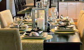 Modern Table Setting Ideas Freshome Adorable Dining Room Table Settings Decoration