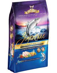 Zignature Feeding Chart Zignature Small Bites Dog Kibble Trout Salmon 4 Lb