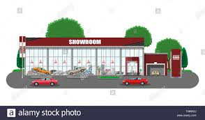 Auto Shop Building Designs Exhibition Pavilion Showroom Or Dealership Car Showroom
