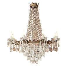 antique crystal chandeliers good furniture vintage crystal chandeliers