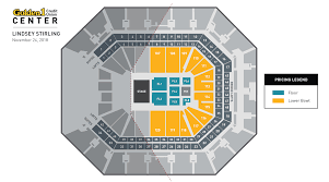 Golden 1 Stage Seating Chart Lindsey Stirling Golden1center