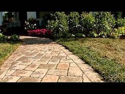 how to install a paver walkway diy