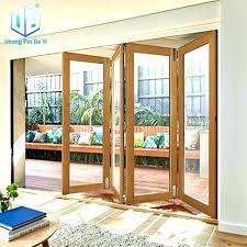 folding glass door cost impact sliding doors bi fold exterior