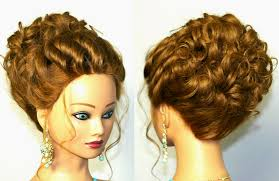 Wedding Hair Style Up Do wedding hairstyle for medium long hair romantic updo tutorial 4658 by wearticles.com