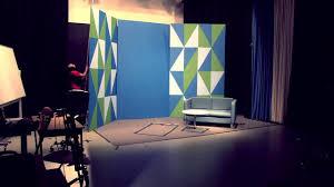 Tv Talk Show Stage Design Tv Studio Set Build Timelapse Youtube