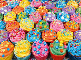 colorful cupcakes. Exellent Cupcakes Colorful Cupcakes Sweets Jigsaw Puzzle Inside O