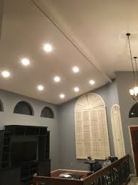 Sloped Ceiling Recessed Lighting 4 Inch Az Recessed Lighting Installation Of Leds In Living Room